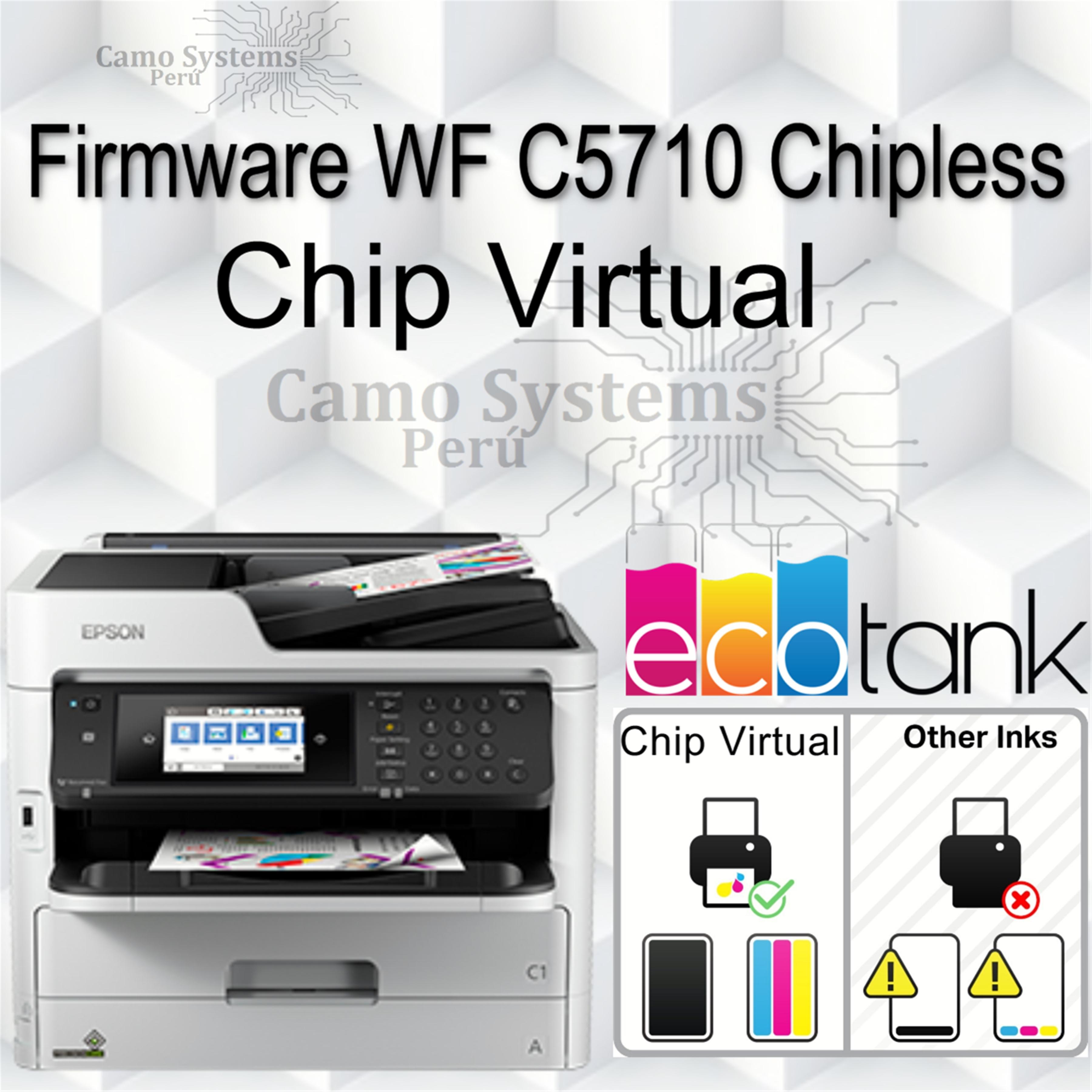 modo de actualización de firmware epson p800